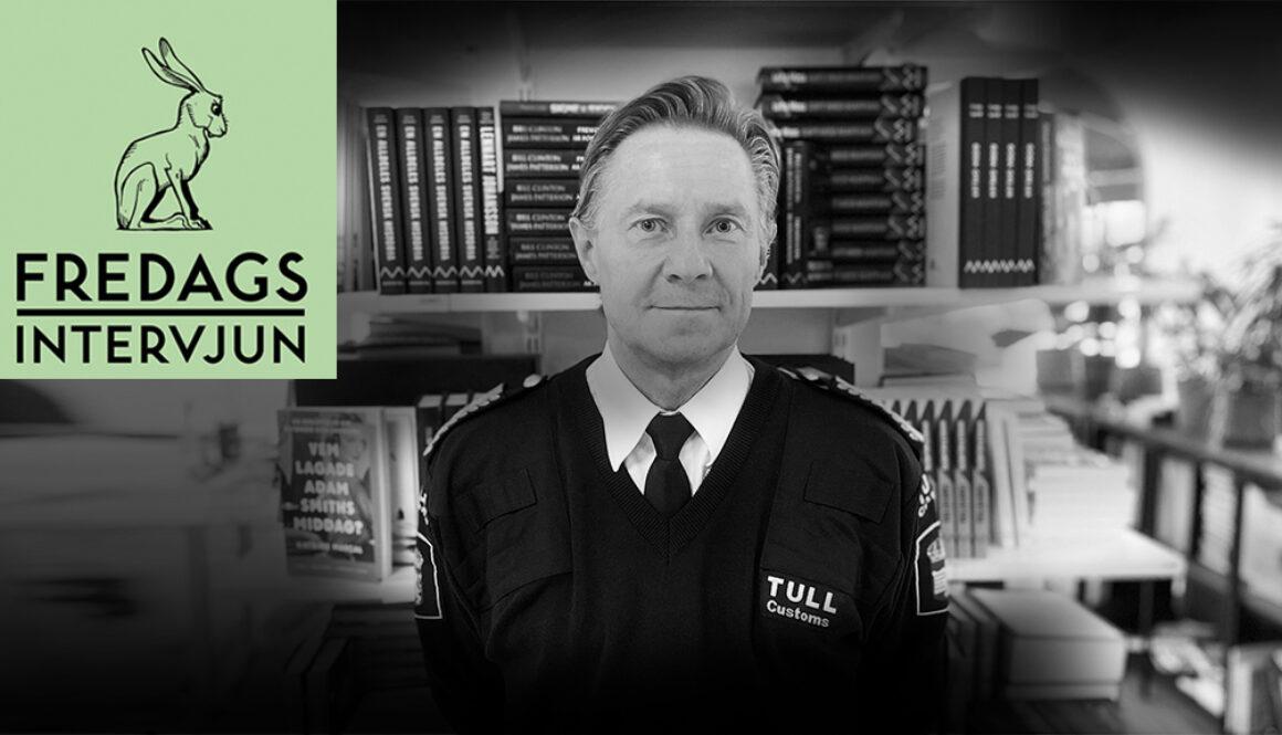Lars Kristoffersson, chef för brottsbekämpning på Tullverket