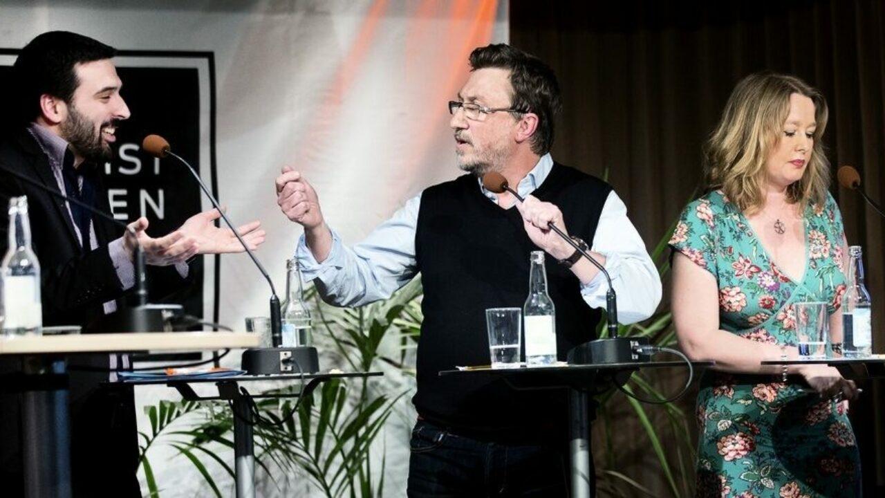 """PK på riktigt. Debatt om """"Våga (vägra) debatten"""" på Publicistklubben i Stockholm, 2013."""