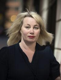 Ann Heberlein, författare och teologie doktor i etik. Foto: Staffan Löwstedt / SvD / TT