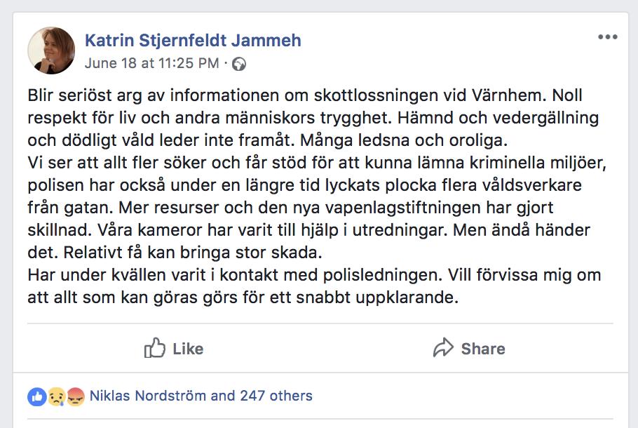Sverige har spelat en destruktiv roll